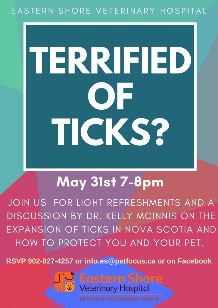 Terrified of Ticks?
